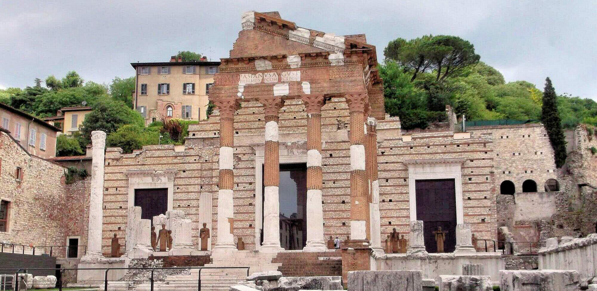 Brescia, Kapitol - zabytek wpisany nalistę światowego dziedzictwa UNESCO