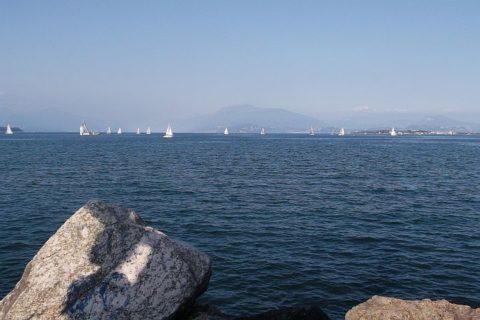 Jezioro Garda widok z Desenzano
