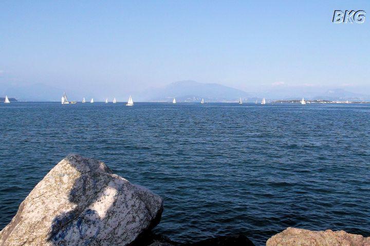 Jezioro Garda - widok zDesenzano.