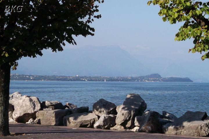 Jezioro Garda, widok zDesenzano.